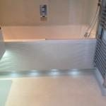 Bathroom under bath recesssed LEDs