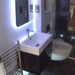 Bling bathroom installation